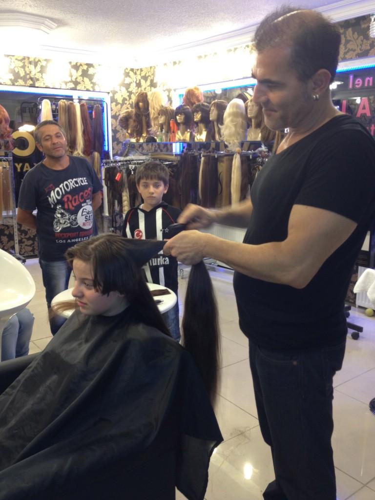 Bulk Hair Cut