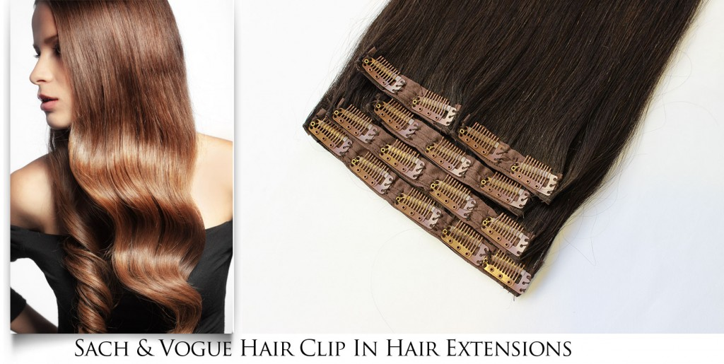 Sach & Vogue Clip in Hair Extensions