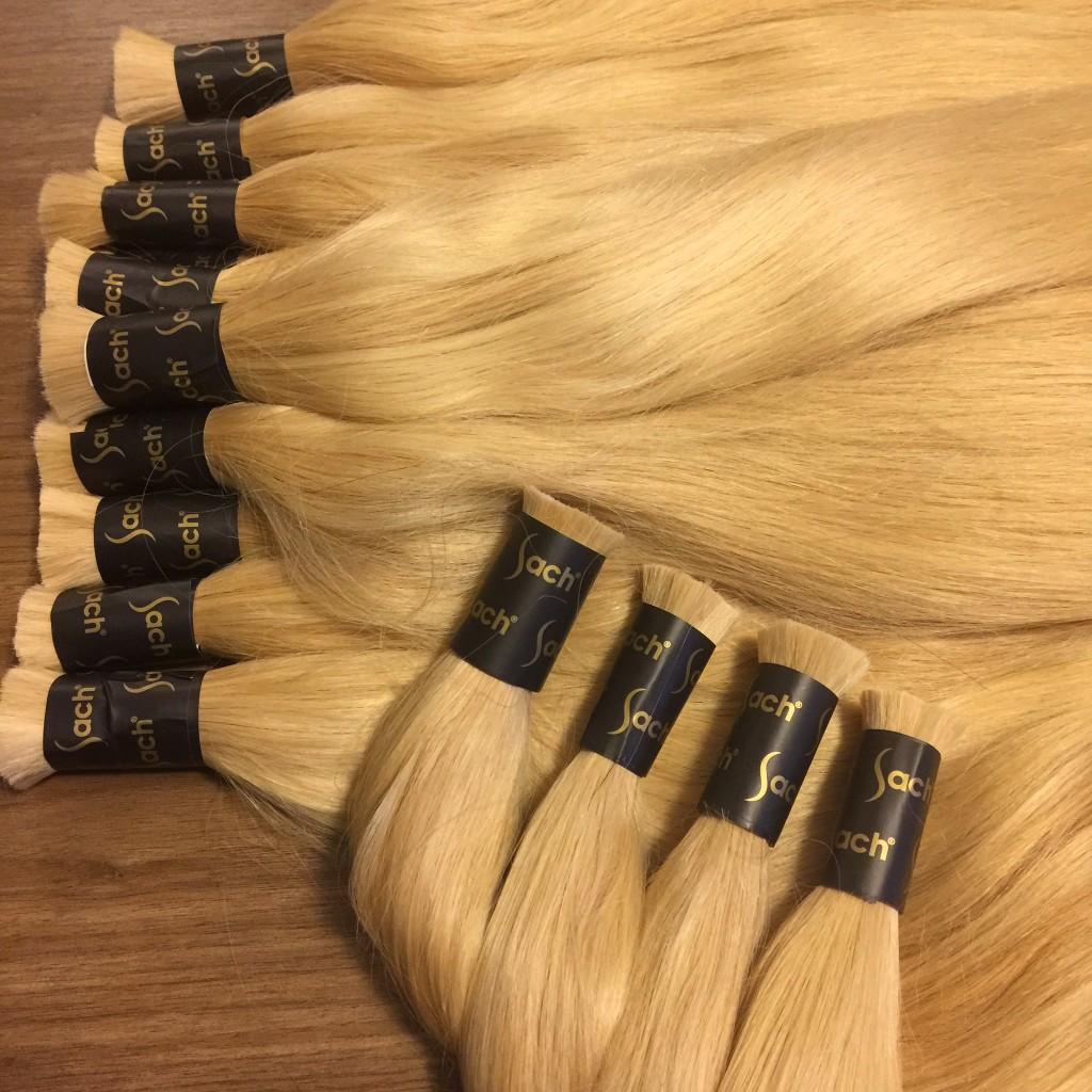 Blond Turkish Anatolian Virgin Bulk Hair & Full Cuticle Colored and Bleached Hair