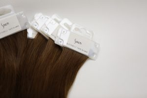 butterfly tape in hair extension