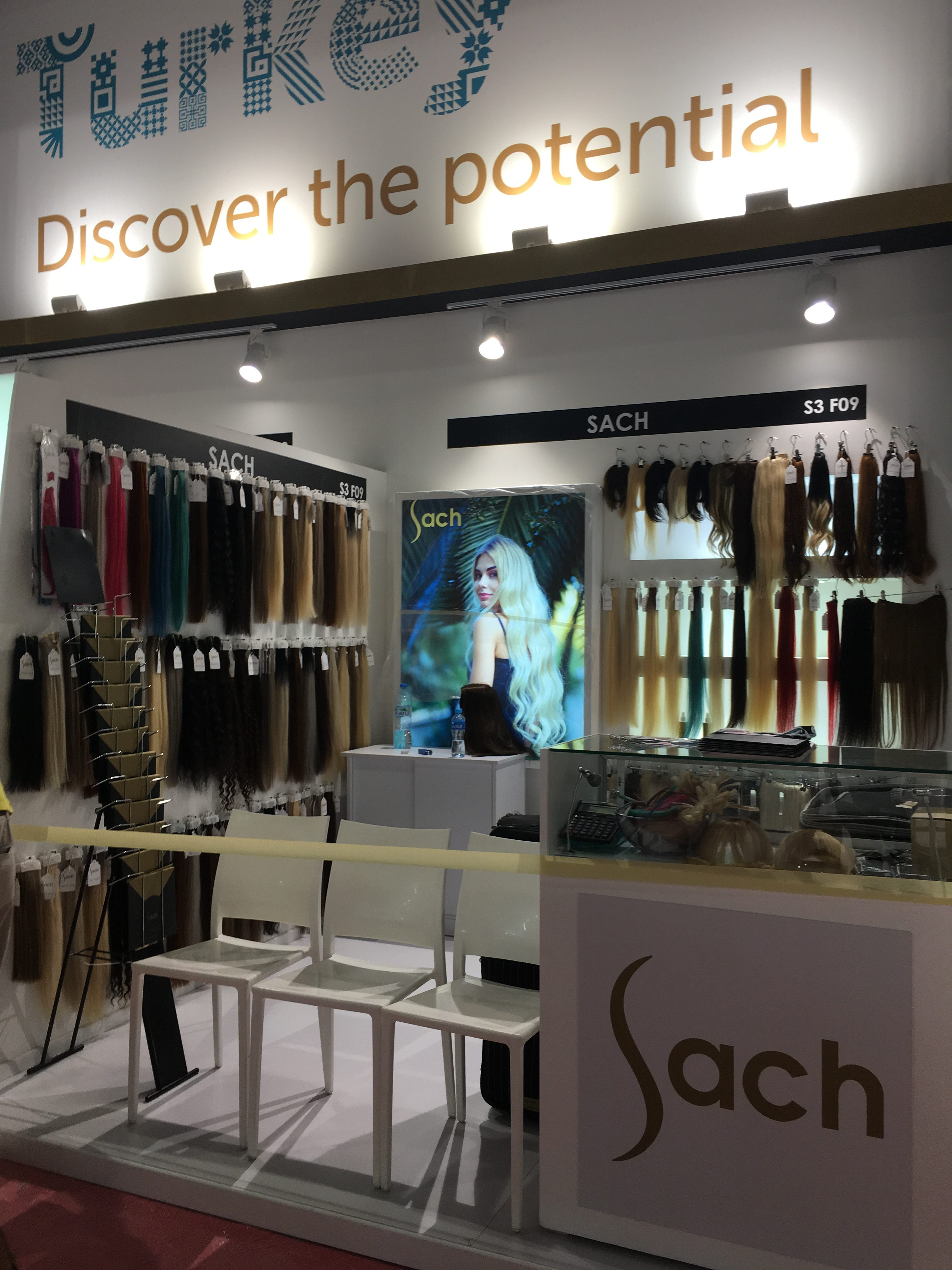 Sach In Dubai Beauty Fair Sach Vogue Hair Extensions 100 Remy